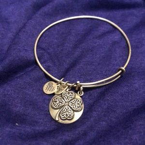 Jewelry - Four Leaf Alex and Ani Silver Bracelet